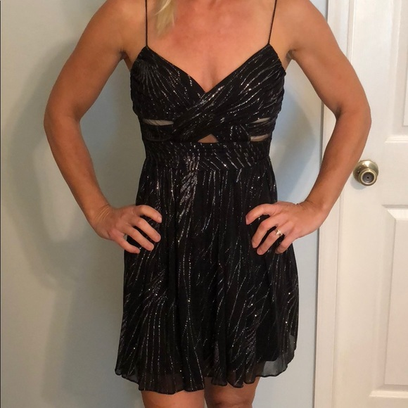 Hailey Logan Dresses Black Sparkly Short Formal Dress Poshmark